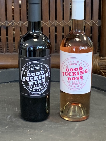 Good Fucking Red Wine and Rose Wine